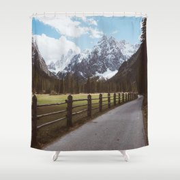 Let's hike together - Landscape and Nature Photography Shower Curtain