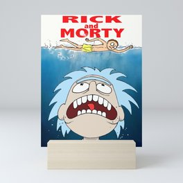 R&M JAWS Mini Art Print