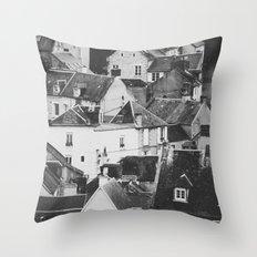 LE VILLAGE Throw Pillow
