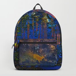 Maxfield Parish Northern Dreams Backpack