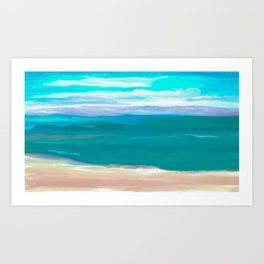 Dreams of Hawaii Art Print