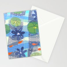 Lily Pond Life Stationery Cards