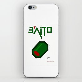 e'aitO - evolution of a sketch to this image :D iPhone Skin