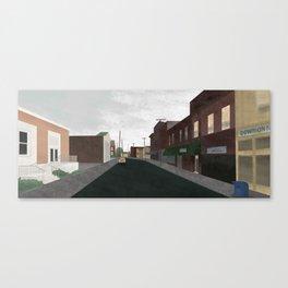 Progressive City (3 of 3) Canvas Print