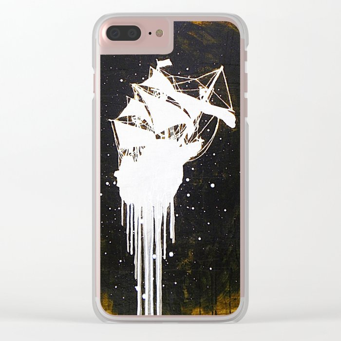"""""""The Final Voyage"""" Clear iPhone Case"""