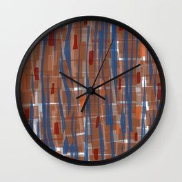 Autumn Run Wall Clock