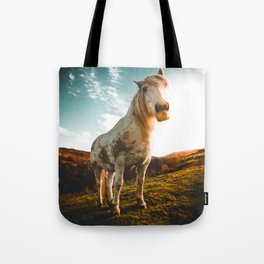 Horse (Color) Tote Bag