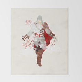 Assassins Creed: Ezio Auditore da Firenze Throw Blanket