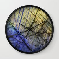 mineral Wall Clocks featuring Mineral Stone by Santo Sagese