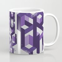 deadmau5 Mugs featuring Gravity Levels - Geometry by Sitchko Igor