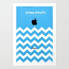 Apple Society Art Print