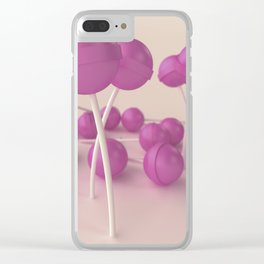 Pink and sweet #4 Clear iPhone Case
