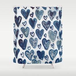 Hearts aplenty. Shower Curtain