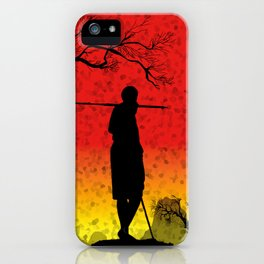 The African Warrior iPhone Case
