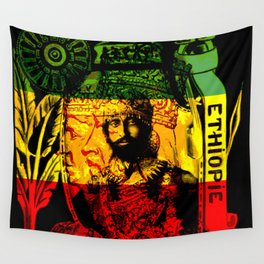Haile Selassie Lion of Judah Wall Tapestry