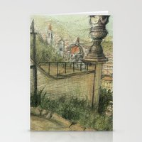 italian Stationery Cards featuring Italian Garden by Emily Dwan