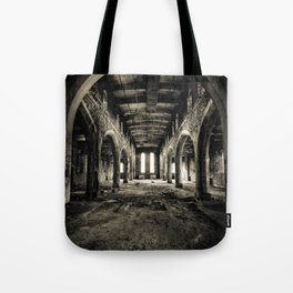 Abandoned Church Abercarn Tote Bag