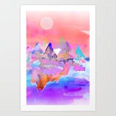 Eutopia Art Print