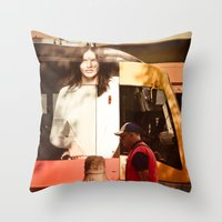 chocolate Throw Pillows featuring Chocolate by Sébastien BOUVIER