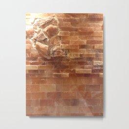 Salt wall Metal Print