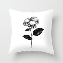 Hydrangea Throw Pillow