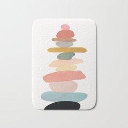 Balancing Stones 22 Bath Mat