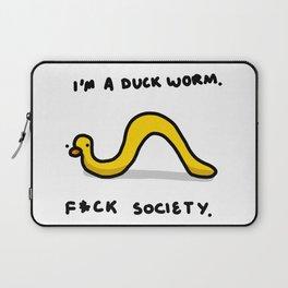 Duck Worm | Veronica Nagorny Laptop Sleeve