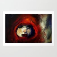 child Art Prints featuring Child by Zu Orzu