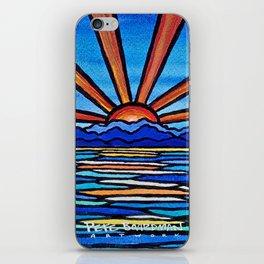 Champlain Sunset iPhone Skin