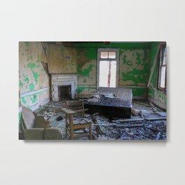 Green Decay Metal Print