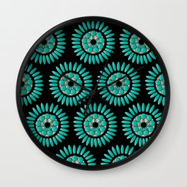 Native Wheel #1 Wall Clock