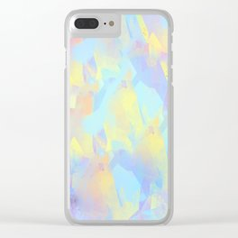 Camouflage XCVI Clear iPhone Case