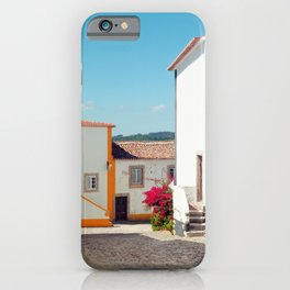Obidos, Portugal (RR 177) Analog 6x6 odak Ektar 100 iPhone Case