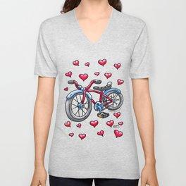 Bike Love Unisex V-Neck