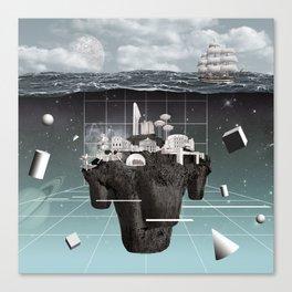 Utopia//Eutopia Canvas Print