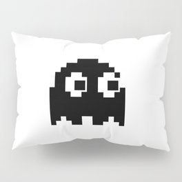 Blacky Ghost Invader Pillow Sham