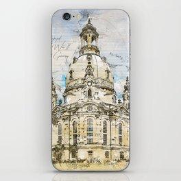 Frauenkirche, Dresden Germany iPhone Skin
