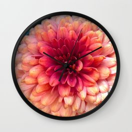 Pink Palette Overload Wall Clock