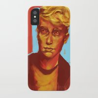 kieren walker iPhone & iPod Cases featuring Kieren Walker by charlotvanh