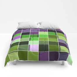 3D PATTERN SQUARE Comforters