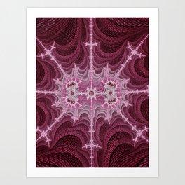 Alien Web Art Print
