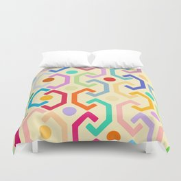 Ethnic Pattern (by day) Duvet Cover