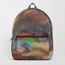 Abstract Art Under the Sea Backpack