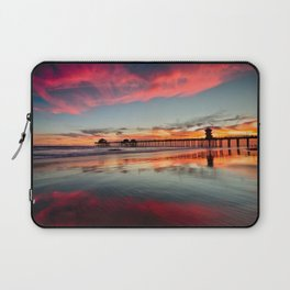 Huntington Beach Sunsets  8/5/15  Laptop Sleeve
