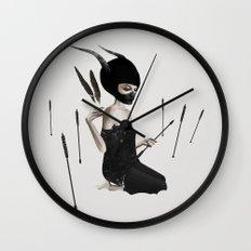 Odi Et Amo Wall Clock