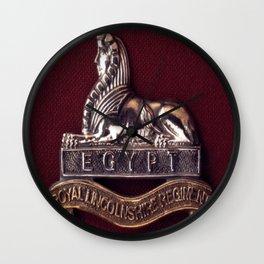 Royal Lincolnshire Regiment Wall Clock