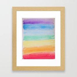 Chakra Watercolor Framed Art Print