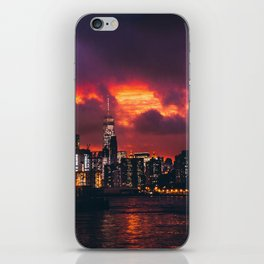 This Wild Sky iPhone Skin