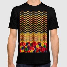 Chevron And Dots T-shirt