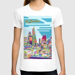 London Town In Pop Art T-shirt